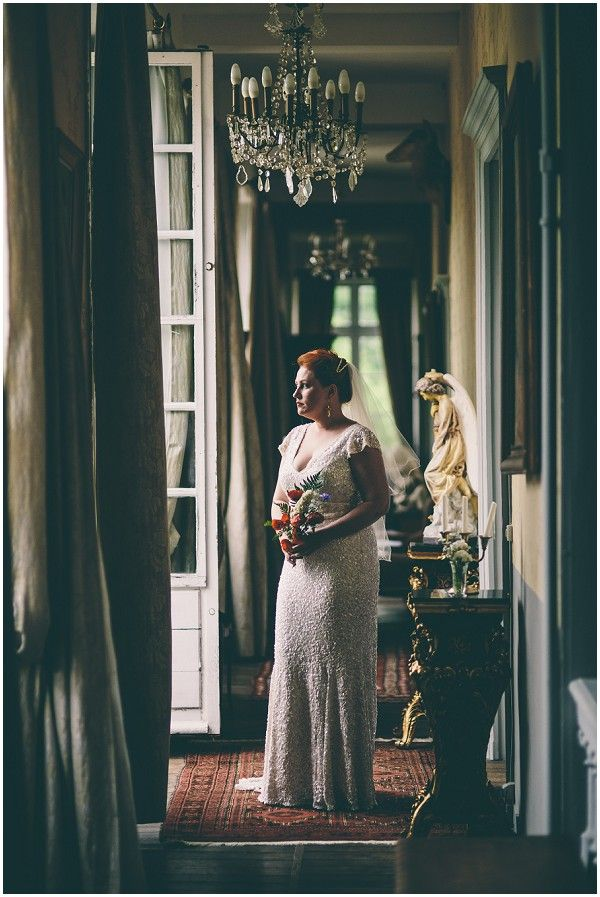 Carla Cosgrove - Founder & Makeup Artist at Candour Store - wedding - France - Australian - eclectic - adventure - vintage -rustic chateau wedding - Karen Willis Holmes - Wil Valor - Samuel Docker Photography - French Wedding Style - vintage bride France  | Image by Samuel Docker Photography