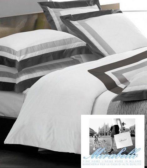 Mirabello Palace overtrek egyptisch katoen zwart, wit,kussen met volant, stijlvol,luxe beddengoed, theo bot slapen zwaag