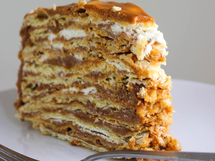 Chilean Caramel Layer Cake