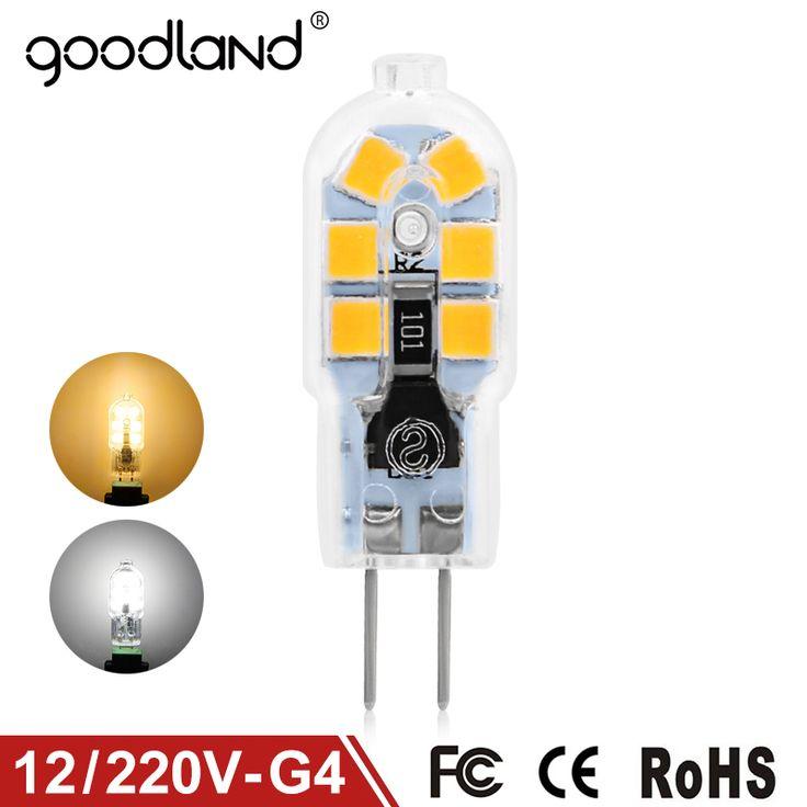 $0.91 (Buy here: https://alitems.com/g/1e8d114494ebda23ff8b16525dc3e8/?i=5&ulp=https%3A%2F%2Fwww.aliexpress.com%2Fitem%2FGoodland-G4-LED-Lamp-3W-AC-DC-12V-LED-G4-Bulb-Mini-AC-220V-240V-G4%2F32787973968.html ) Goodland G4 LED Lamp 3W AC/DC 12V LED G4 Bulb Mini AC 220V 240V G4 LED Light SMD2835 Replace Halogen Chandelier Lamp for just $0.91