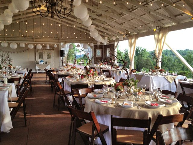 Farm wedding venues thought front porch farms was a for Good destination wedding locations