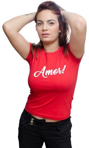 Camiseta - Amor! - camisetas legais | camisetaseradigital