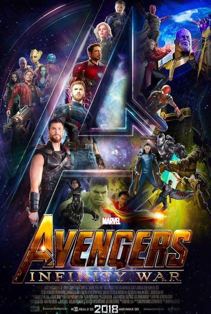 The Infinity Wart Saga Part 1 Issue: Avengers. Infinity Wars Poster