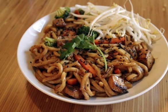Spicy Sesame Noodles; lunch/dinner