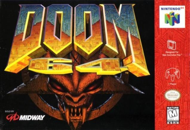 Though credits have rolled on the new Doom, I wanted to keep blowing up imps and pinkies. It seemed like the right time to revisit Doom 64.