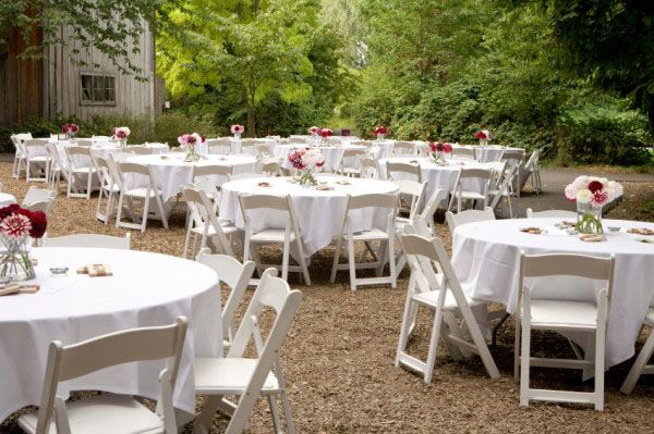 Backyard Wedding Decorations Diy : DIY decorating, Garden weddings and Chairs on Pinterest