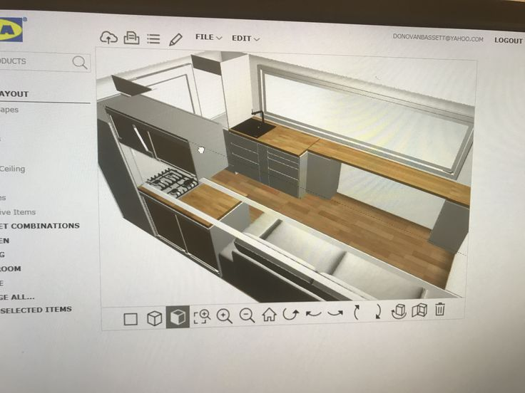 Bus kitchen designed by IKEA