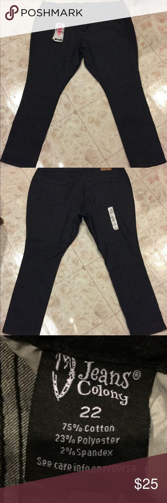 Women's Jeans Colony Skinny Jeans Size 22 Plus size brand new skinny jeans from Jeans Colony in Black Jeans Colony Jeans Skinny