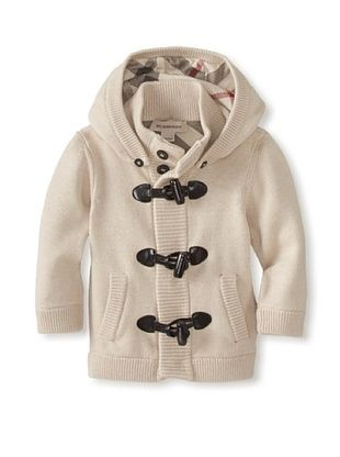 30% OFF Burberry Kid's Jersey Frogs Cardigans Trench (Cappucino)