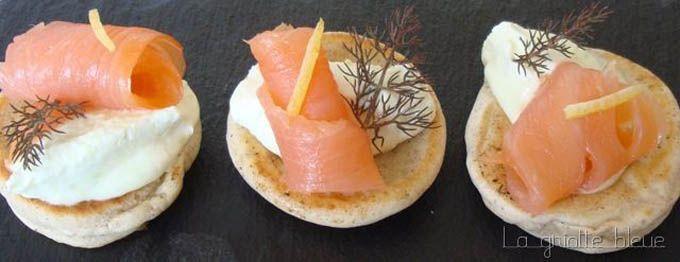 La recette des blinis au sarrasin et saumon