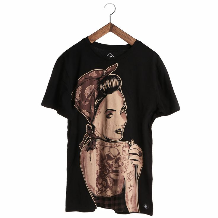 Iron Fist Bario Belle Men's T-Shirt, 100% Cotton. Alternative Clothing