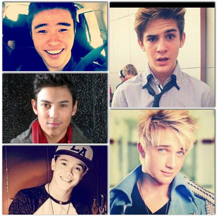 IM5. Dalton, Cole, Dana, Will, Gabe <3 Love them all. These boys are my baes!!!!!!