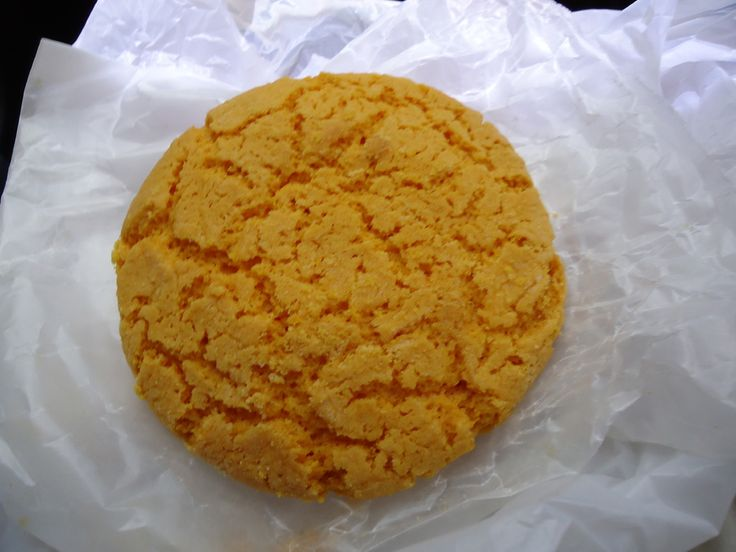 Almond cookie from kin wah chinese restaurant in kaneohe