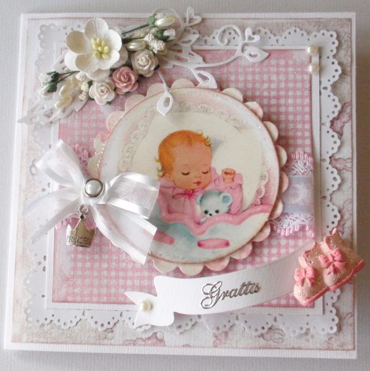 Lenas papperspyssel: Babykort