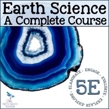 This collection of Earth Science resources is a complete curriculum that is based on the Next Generation Science Standards and uses the 5E Model for implementation. This download can be used as a stand-alone course or can be used to supplement your existing curriculum.