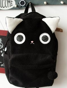 This is what I could do to make my black backpack cooler!!!