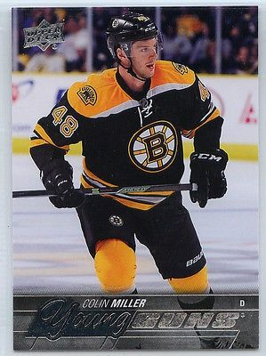 nice 2015-16 UPPER DECK SERIES 1 YOUNG GUNS COLIN MILLER #247 ROOKIE RC - For Sale View more at http://shipperscentral.com/wp/product/2015-16-upper-deck-series-1-young-guns-colin-miller-247-rookie-rc-for-sale/