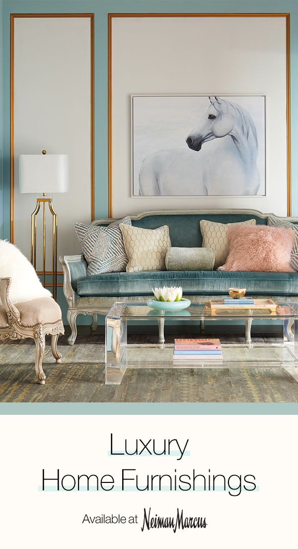 Get inspired with living room ideas from Neiman Marcus. From unique furnishings to luxe accessories, discover everything you need to give your space a modern makeover.