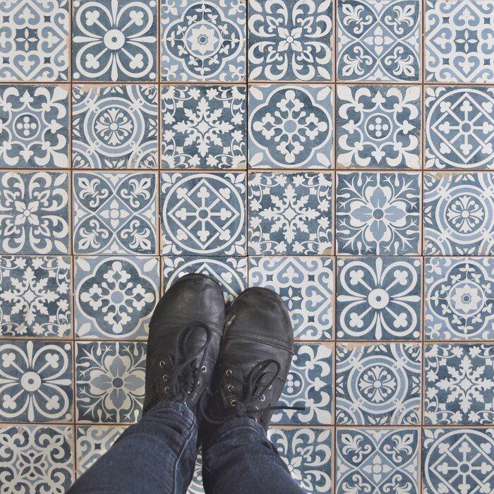 Faventie 13 X 13 Ceramic Wall Floor Tile Ceramic Floor Flooring Elitetile