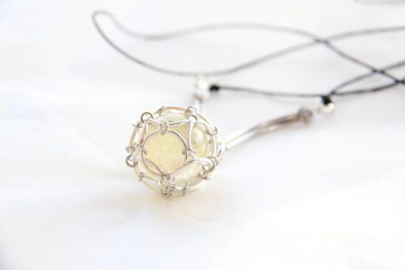 Imprisoned Citrine Quartz sphere necklace by Somsri on Etsy, $45.00 #Jewelry #Necklace #Stone #Crystal #Jewellery #Handmade #Handmadejewelry #Handmadejewellery #Gemstone #Pendant #Wirewrapped #Orangequartz  #Quartz #Somsri #Citrine #Aztec #Imprisoned