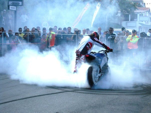Epic Burnout #ABW #Buell
