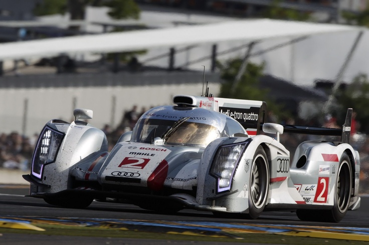 Audi Dominates 24 Hours of Le Man Taking 1st, 2nd, 3rd and 5th Spots with Diesel-Hybrid R18 e-tron - Carscoop