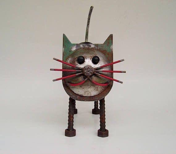 Metal arte gato