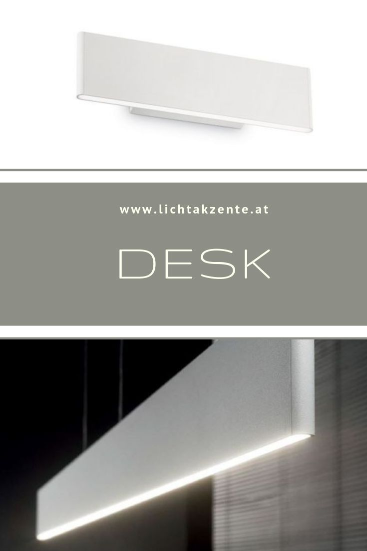 Ideal Lux Flache Led Wandlampe Desk Wandleuchte Led Pendelleuchte Lampen