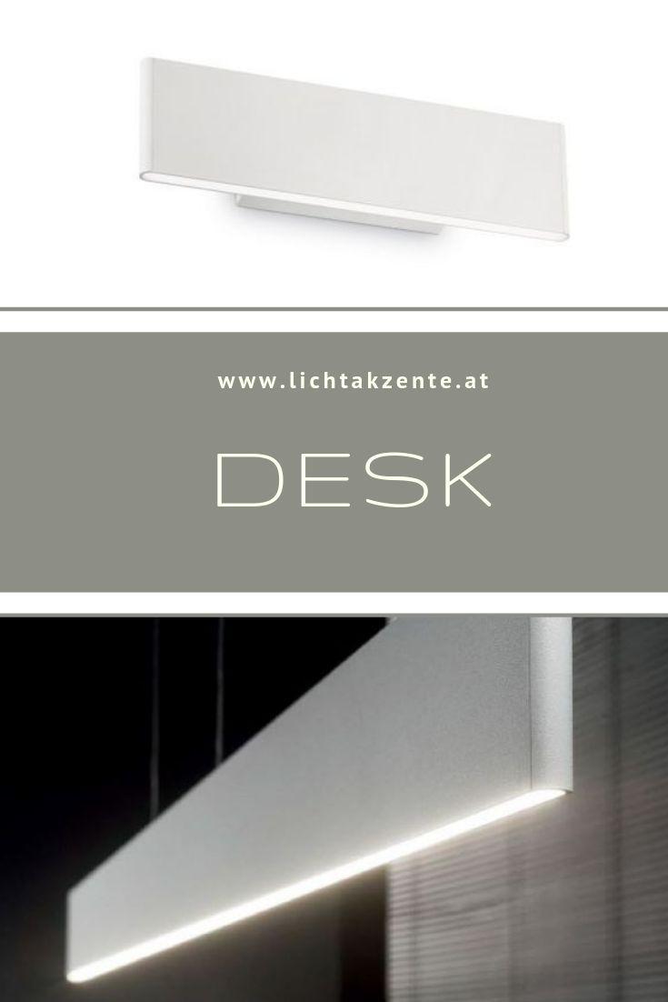 Ideal Lux flache LED Wandlampe Desk | Beleuchtung decke