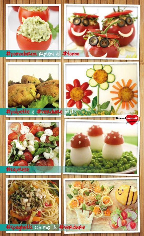 cucinare con fantasia, un modo semplice per far apprezzare anche ai più piccoli le #verdure