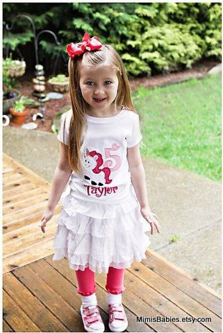 Unicorn Birthday Shirt  Monogrammed Free  Any by mimisbabies, $26.95