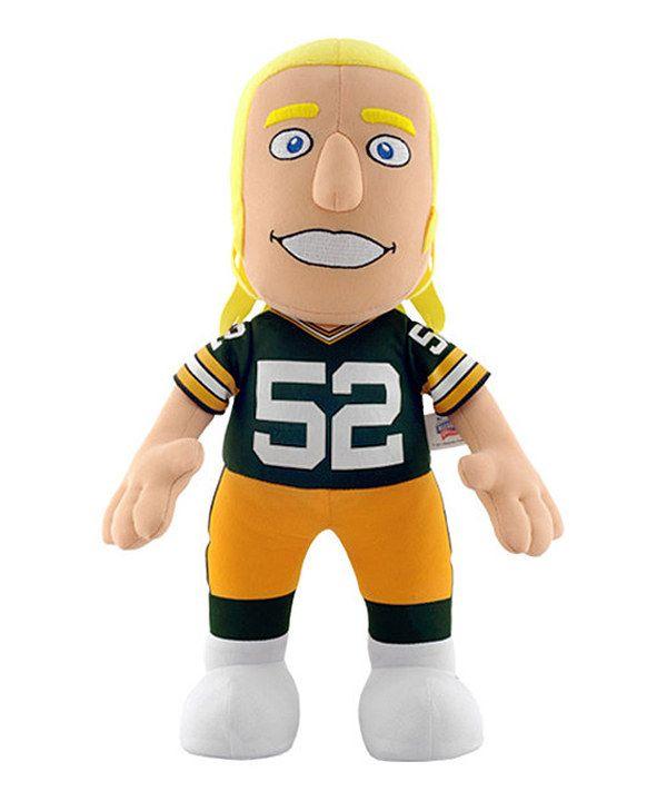 Love this Green Bay Packers Clay Matthews Jr. Plush Toy by Bleacher Creatures on #zulily! #zulilyfinds