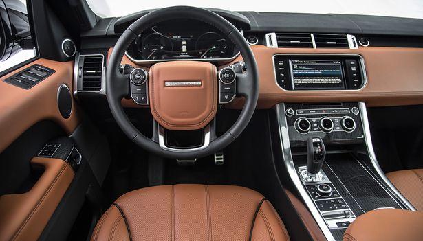Nice Range Rover Sport Interior