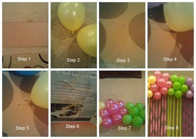 Step by step how to make your own balloon cluster for Balloon cluster decoration