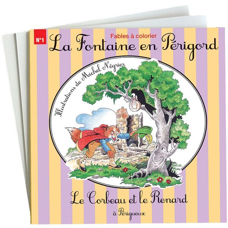 Fables|Le Corbeau et le Renard à Périgueux - Michel Négrier