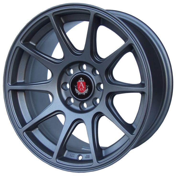 axe ex8 matt grey alloy wheels with stunning look for 4 studd wheels in matt grey finish with 15. Black Bedroom Furniture Sets. Home Design Ideas