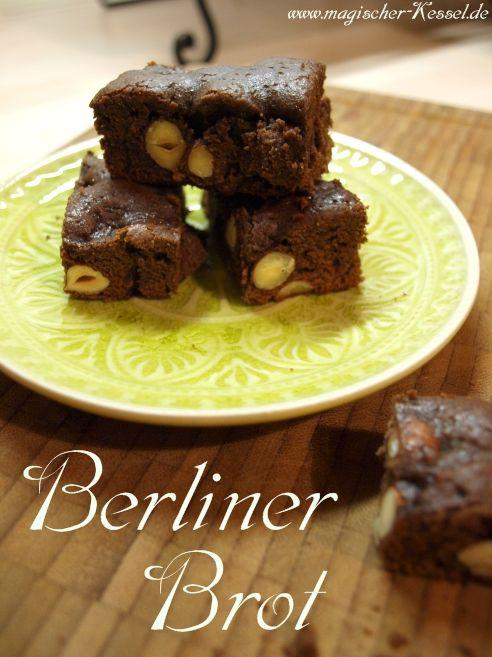 Berliner Brot - some sort of traditional german christmas biscuit/cookie