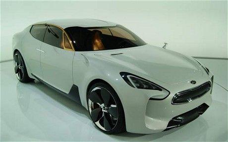 Kia GT concept.  (O_O)
