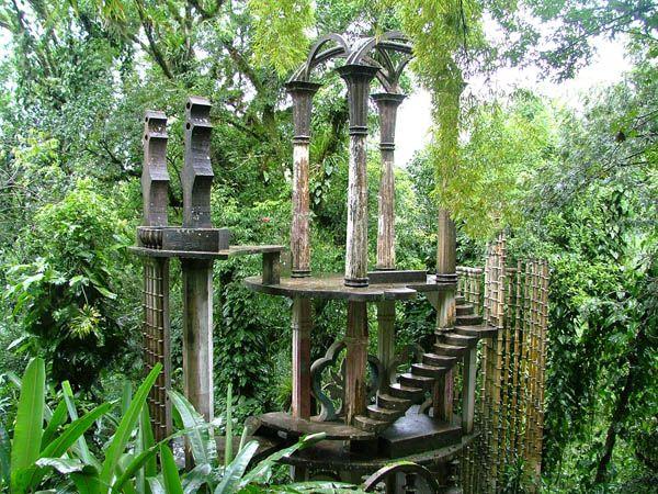 Jardín surrealista en Xilitla, San Luis Potosía, Méx.