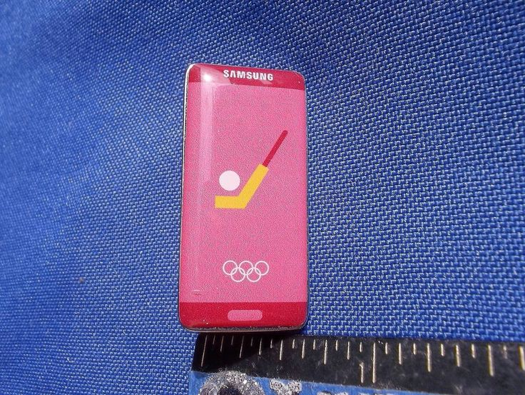 2016 Rio Olympic Sponsor Pin Samsung Field Hockey
