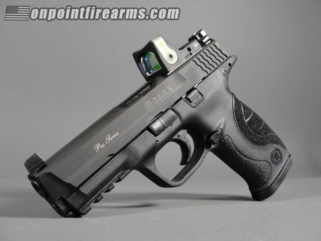 S&W Pro Series M&P 9mm C.O.R.E with Trijicon RMR.