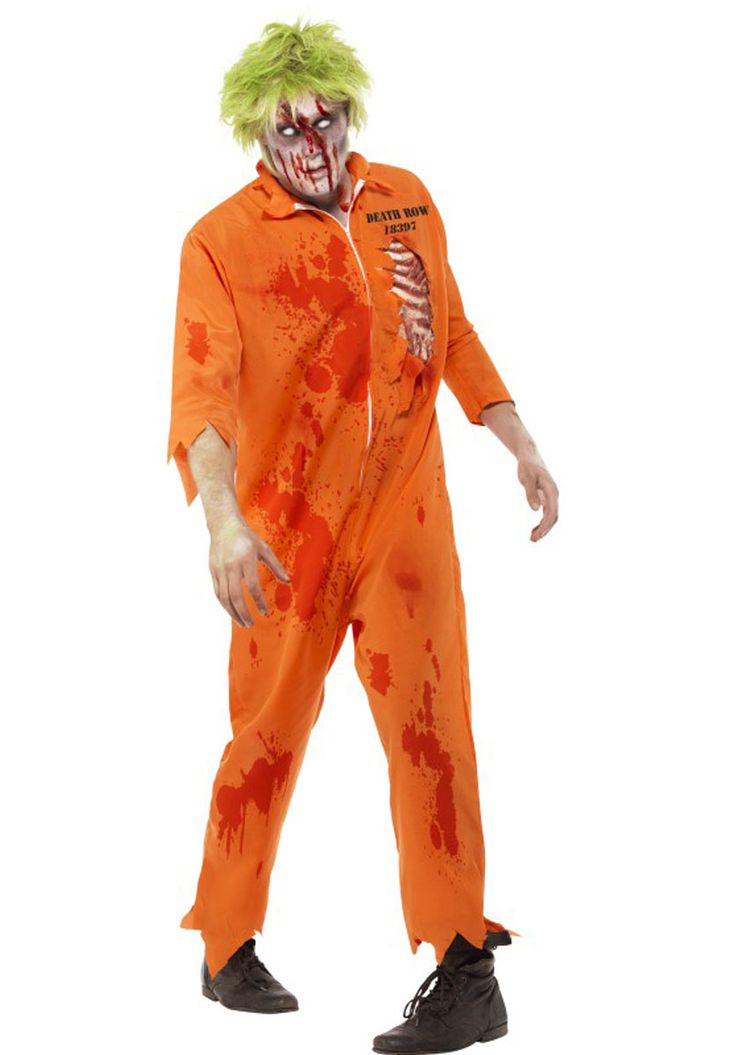 Zombie Death Row Inmate Costume - Halloween Costumes at Escapade
