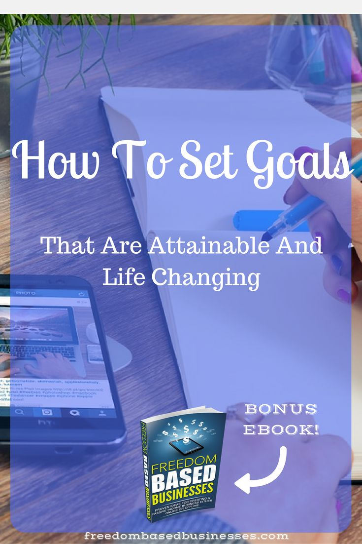 Learning how to set goals and achieve them is one of the most important keys to success! We'll go into how we set goals in life and why. Read the full post and learn how to set goals that are attainable and life changing!
