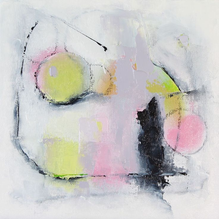'Abstract Pink & Green 2' by Dan Wellington