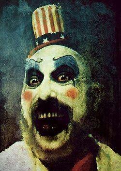 clown, captain Spaulding, and killer image
