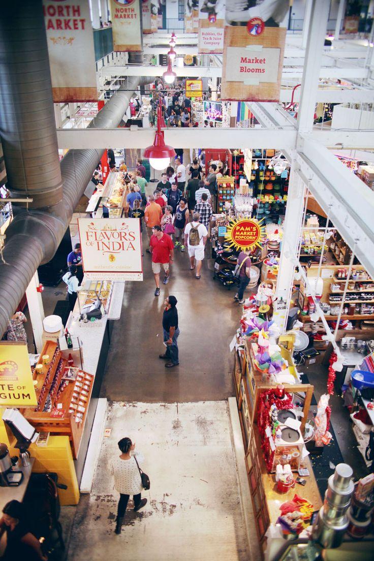 The North Market in Columbus, Ohio