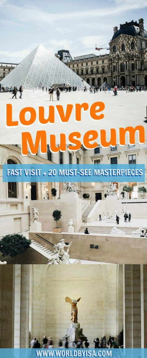Louvre Museum Quick Tour: 20 Must-See Masterpieces - World By Isa