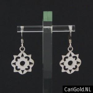 #Somewhere Else - #Marillion - Jewellery - Handmade Sterling silver Earrings (16mm)- EARSOM16 - Designed by Karin Hengeveld - to order check - www.CariGold.nl