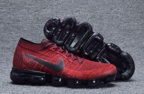 f922c1ac64f 2019 的 Nike Air VaporMax Dark Team Red and Black-University Red For ...