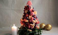 Fruit Christmas Tree Recipe - Christmas desserts recipes